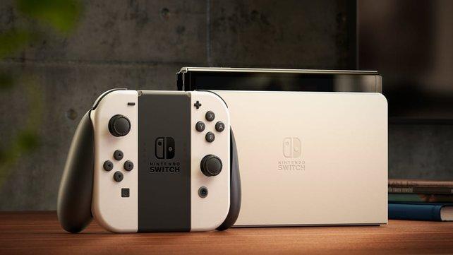 Nintendo Switch OLED: Eine Switch Pro kann immer noch kommen.