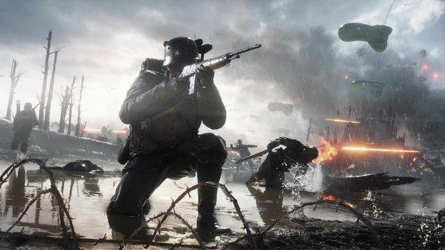 1. Weltkrieg, 2. Weltkrieg, Gegenwart, Zukunft – im Gaming ist es möglich, auf vielen verschiedenen Schlachtfeldern zu kämpfen.