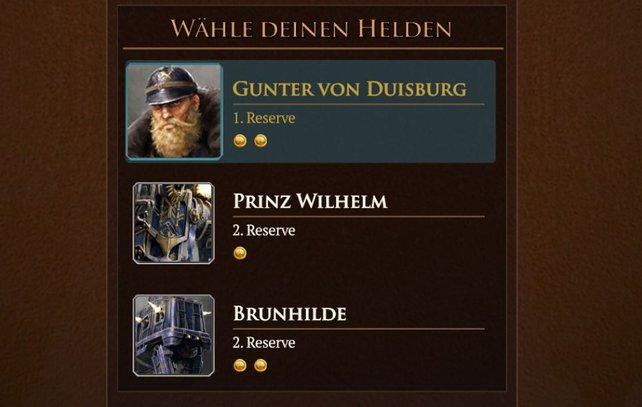 Die Helden von Saxony.