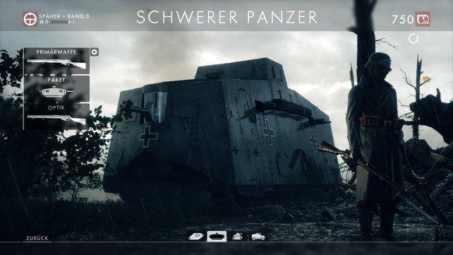 Dieser schwere Panzer ist eine deutsche Entwicklung und es handelt sich um einen der schlagkräftigsten Panzer für die Panzerfahrer-Klasse!