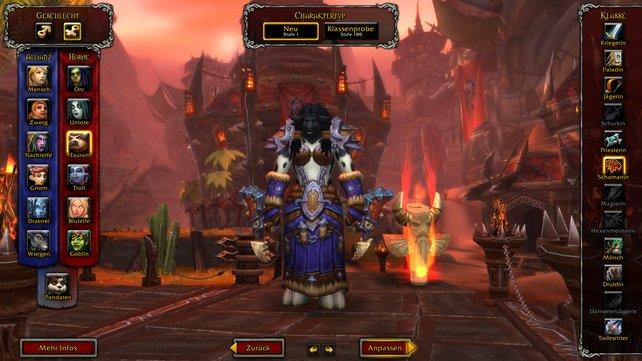 Möchtet ihr einen neuen Charakter in World of Warcraft erstellen, müsst ihr euch für eine Fraktion und ein Volk entscheiden.