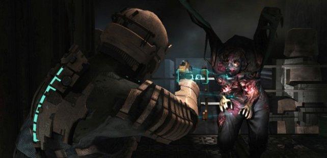 In Dead Space herrscht eine beklemmende Dunkelheit