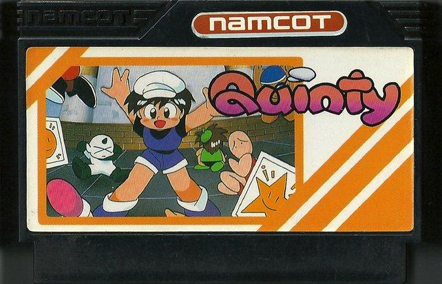 Quinty: Das erste Spiel von Satoshi Tajiri.