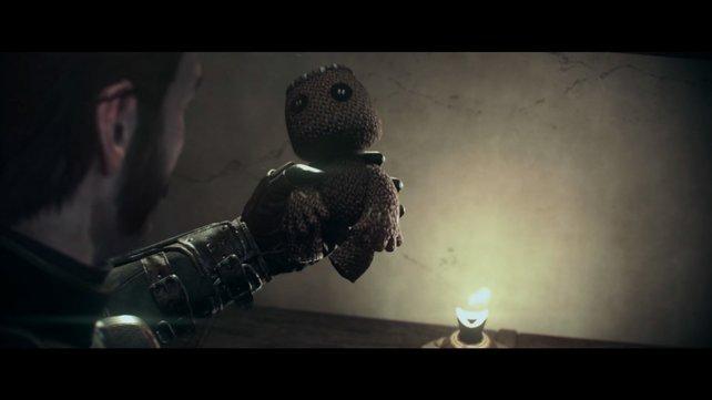Das Maskottchen aus Little Big Planet hat auch in The Order 1886 einen Auftritt.