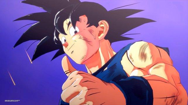 Nach seinem kraftraubenden Kampf gegen Boo hat Son-Goku noch alle Hände voll zu tun.