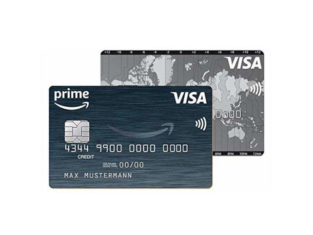 Die Amazon-Kreditkarte / VISA / Ausgestellt von der Landesbank Berlin.