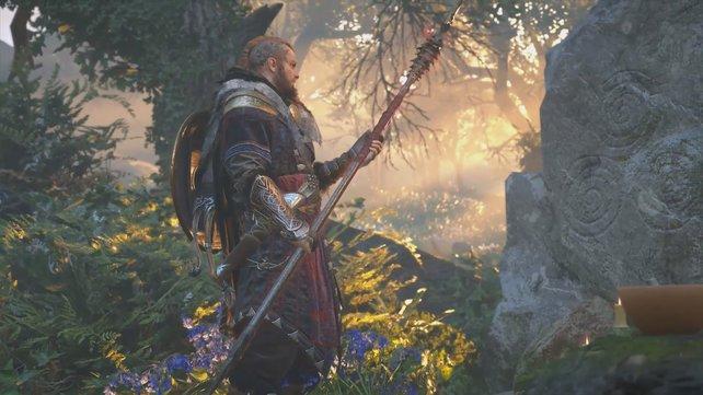 """Im DLC """"Zorn der Druiden"""" könnt ihr mit dem Speer Gae Bolg eine ganz besondere Waffe erringen."""