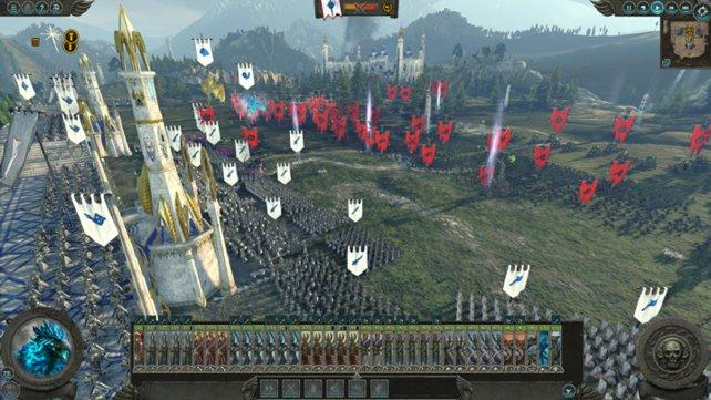 In Schlachten wie dieser entfaltet Total War - Warhammer 2 sein volles Potenzial.