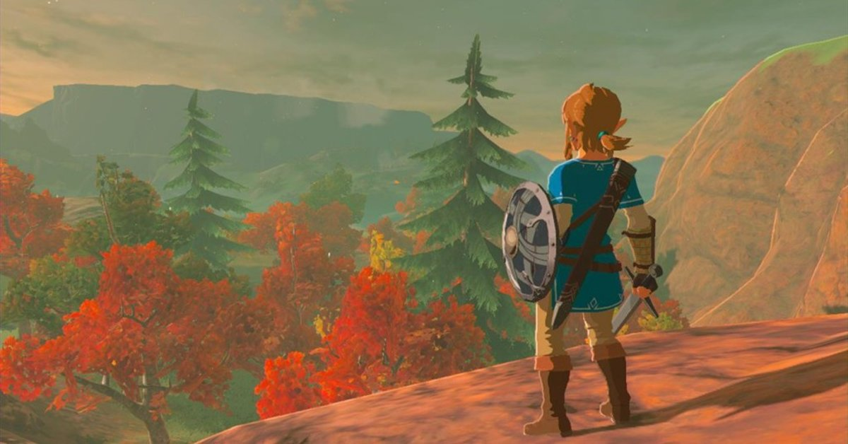 Zelda | Spieler fängt Fische in Breath of the Wild mit einfachem Trick