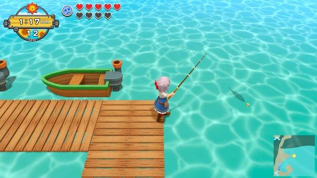 Fische könnt ihr nicht nur in Seen und Teichen, sondern auch direkt im Meer angeln und sie zu einer leckeren Speise weiterverarbeiten.