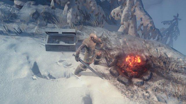 Bei diesen Temperaturen wollt ihr eigentlich lieber am Feuer bleiben.