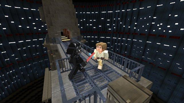 """Minecraft: Jetzt ist auch das """"Star Wars""""-Universum im Sandbaukasten vertreten."""
