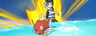 Pokémon Sonne und Mond: Die Attacke ?Platscher? wird erstmals zur Gefahr