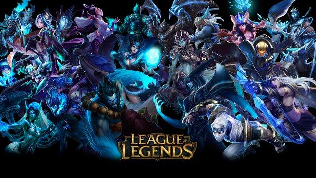 Ein Dauerbrenner unter den angefragten Spielen: League of Legends.
