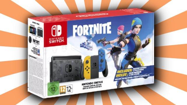 """Das """"Nintendo Switch Fortnite""""-Bundle gibts ab jetzt bei Saturn."""