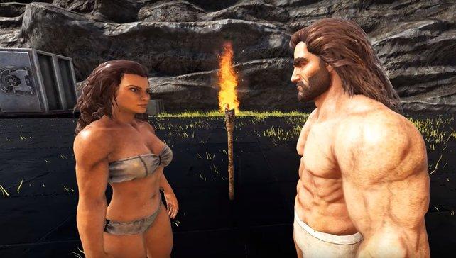 Ist das nicht romantisch? Bei ARK: Survival Evolved könnt ihr euch jetzt für euer Date so richtig schick machen.