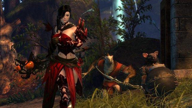 Guild Wars 2 überzeugt vor allem durch sein freieres Quest-System.