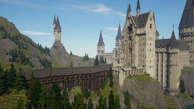 Allein Schloss Hogwarts ist ein gewaltiges Bauprojekt. Und das ist noch nicht alles.