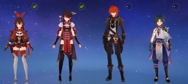 In könnt Genshin Impact mit bis zu vier Spielern im Multiplayer zocken.