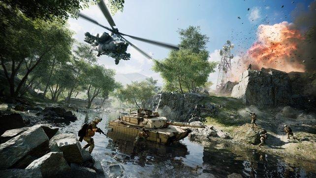 Das Battlefield Portal bietet anpassbare Online-Matches mit alter und neuer Kriegsführung.