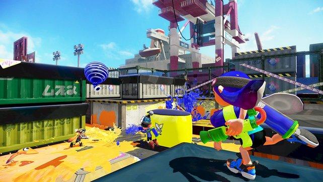 Farbenfroh und actionreich: Der Online-Shooter besticht mit guter Spielbarkeit und kindgerechter Aufmachung.