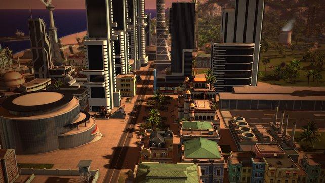 Tropico 5 bietet zahlreiche Gebäude. Die Vielfalt von Tropico 4 erreicht es jedoch nicht.