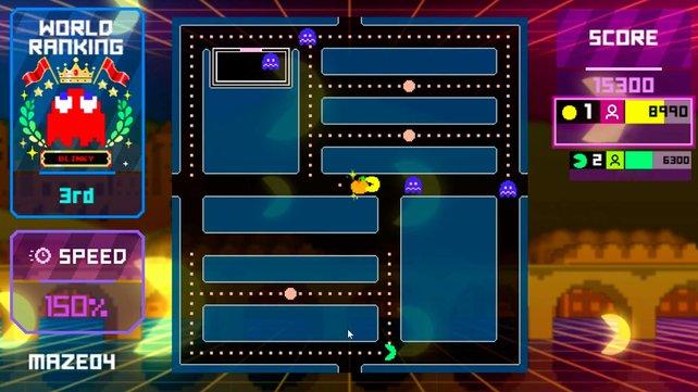 Pac-Man kehrt mit Online-Multiplayer und Level Editor auf Twitch zurück.