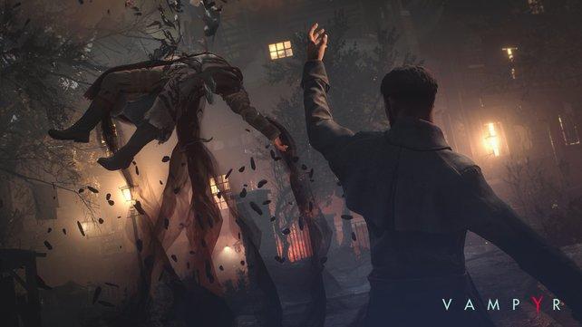 Blut und Schatten: Jonathans Vampir-Fähigkeiten werden mit eurem eigenen Blut gespeist.