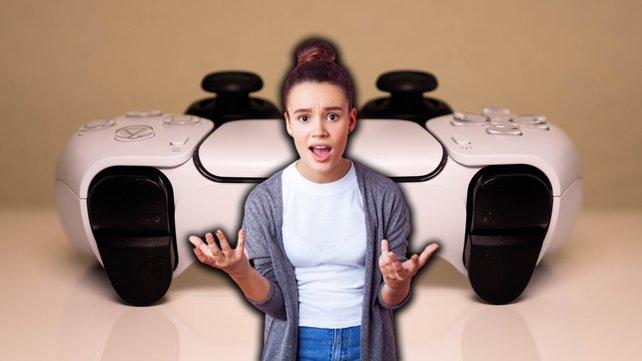 Ein bestimmtes Detail auf dem PS5-Controller beschäftigt die Spieler. (Bilquelle: Getty Images/Khosrork.)