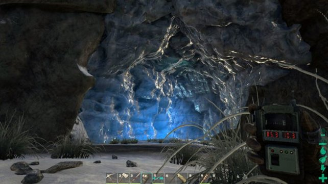 In der südlichen Eishöhle werdet ihr frieren. Bereitet euch gut darauf vor.