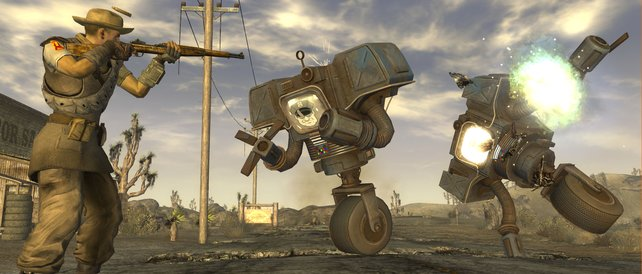 Fallout: New Vegas stammt von denselben Entwicklern, die auch hinter The Outer Worlds stecken.