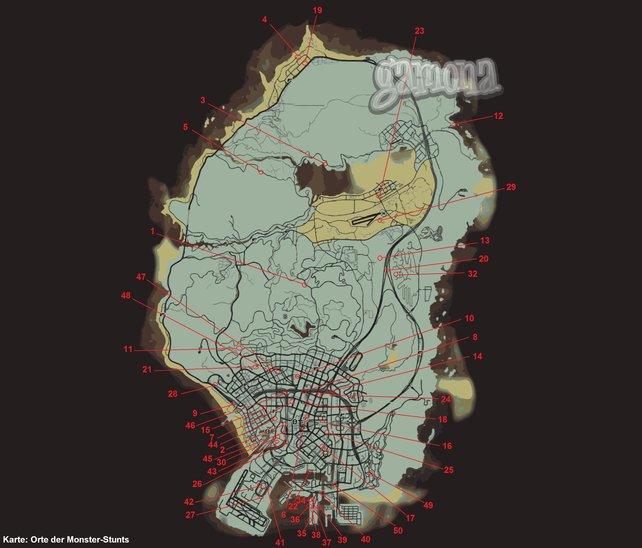 Zum Vergrößern bitte auf die Map klicken.