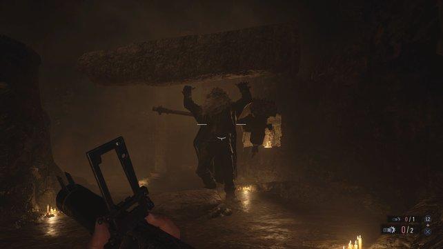 Einigen Gegnern und Monstern müsst ihr mit einem größeren Waffenkaliber gegenübertreten, um als Sieger hervorzugehen.