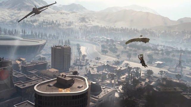 Eine große Karte und bis zu 149 Konkurrenten: Call of Duty: Warzone lädt zum Battle Royale.