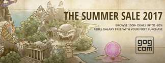 GOG Summer-Sale & Weltraum-Hit Rebel Galaxy gratis