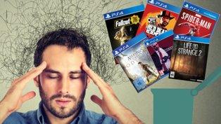 Welche Spiele soll ich löschen?