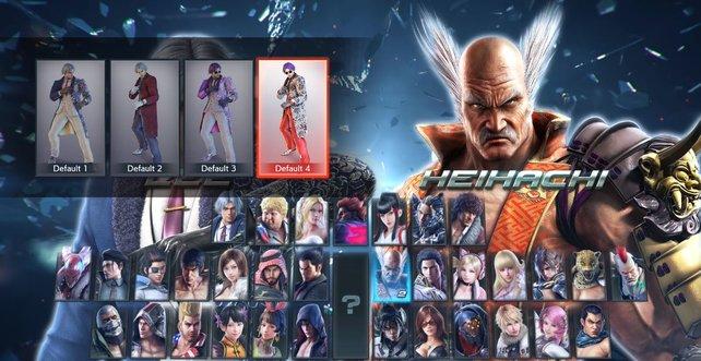 Für Violet in Tekken 7 wählt ihr das dritte oder vierte Kostüm von Lee Chaolan aus.