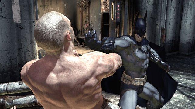 """Dank """"Free Flow""""-Kampfsystem war prügeln mit Batman nie eindrucksvoller."""
