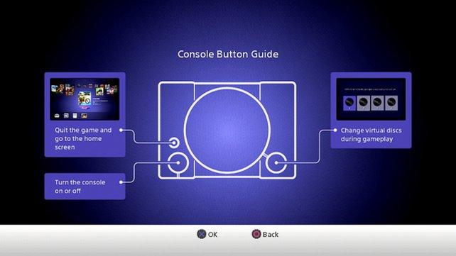 Das ist die Tastenbelegung der PS Classic. Für einige reichen die Funktionen nicht aus.