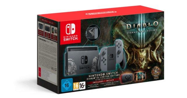 Die Diablo 3 Eternal Collection wird es auch im Bundle mit der Switch geben.