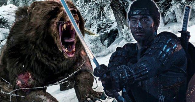 Unterschätzt die Bären nicht! In Ghost of Tsushima ist Schluss mit Winnie Puuh.