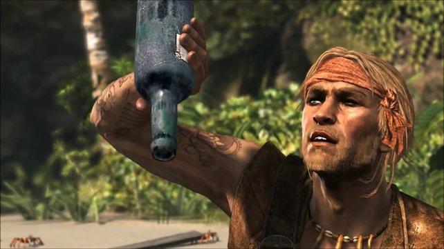 spieletipps-Leser Christoph sammelt Rum in Assassin's Creed Black Flag, um Meutereien zu verhindern. Auch wenn es das Feature gar nicht gibt.