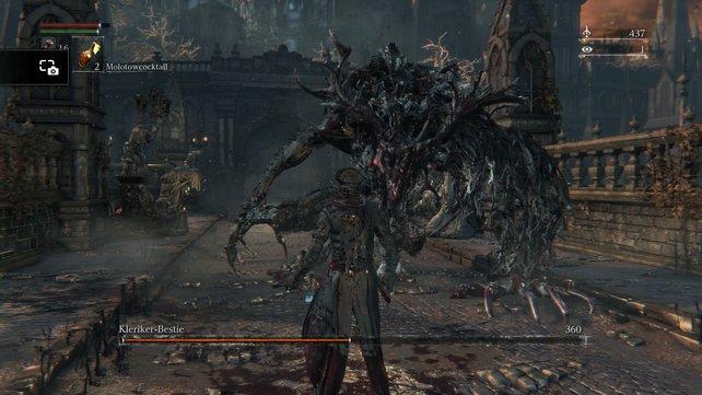Je früher ihr den Kopf der Bestie verstümmelt, desto schneller lässt sich ihr Ende herbeiführen.