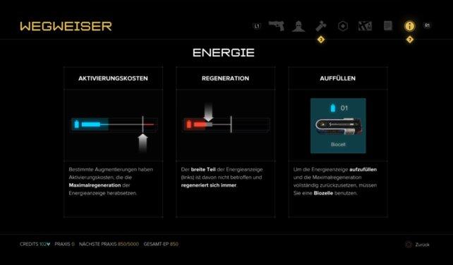 Energieleiste