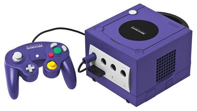 Die Würfel-Konsole: Gegen die Konkurrenz in Form der PlayStation 2 hat der GameCube kein Land gesehen.