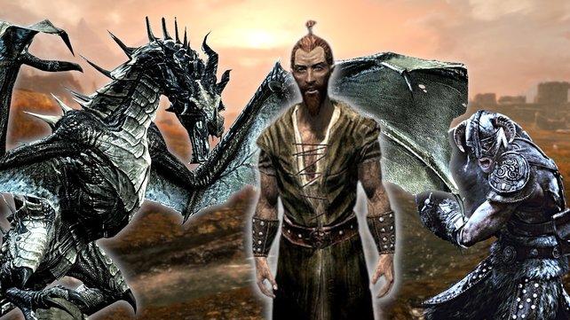 Skyrim-Spieler bekommt Konkurrenz durch NPC.