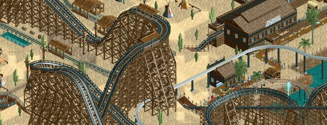Rollercoaster Tycoon 2: Zehn Jahre Arbeit für den besten