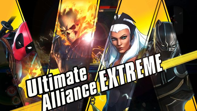 """Wenn alle Helden eurer Gruppe ihren Spezialangriff gleichzeitig ausführen, kommt es zum namensgebenden """"Ultimate Alliance""""-Angriff."""