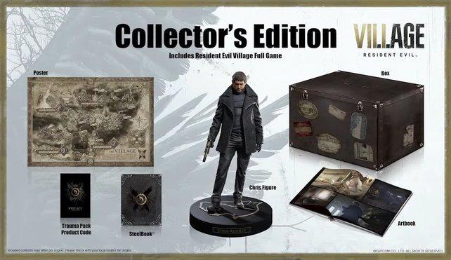 Die Collector's Edition von Resident Evil Village enthält zusätzliche digitale und physische Inhalte.
