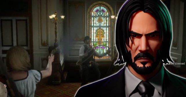 """Ein Spieler wird in Red Dead Online von drei Mitspielern angegriffen - und er macht gleich kurzen """"John Wick""""-Prozess mit ihnen."""